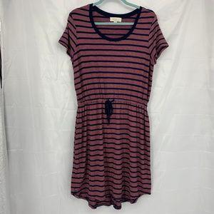 🍩 Olive & Oak Size XL Striped Dress